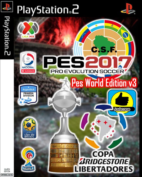 PES 2017 PS2 PES World Edition 2017 V3 LATINO DOWNLOAD ISO